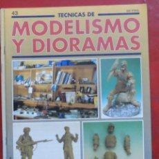 Hobbys: MODELISMO Y DIORAMAS Nº 43. Lote 182923451