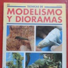 Hobbys: MODELISMO Y DIORAMAS Nº 55. Lote 182923538