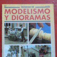 Hobbys: MODELISMO Y DIORAMAS Nº 57. Lote 182923715