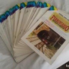 Hobbys: 50 REVISTAS MODELISMO FERROVIARIO, PASO A PASO. NÚMEROS FOTOGRAFIADOS. EDICIONES NUEVA LENTE. Lote 183488692