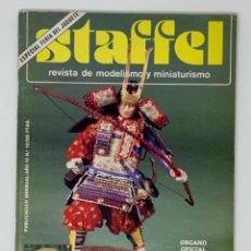 Hobbys: STAFFEL REVISTA DE MODELISMO Y MINIATURISMO AÑO III Nº 13. Lote 183718503