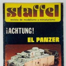 Hobbys: STAFFEL REVISTA DE MODELISMO Y MINIATURISMO AÑO II Nº 9. Lote 183719788