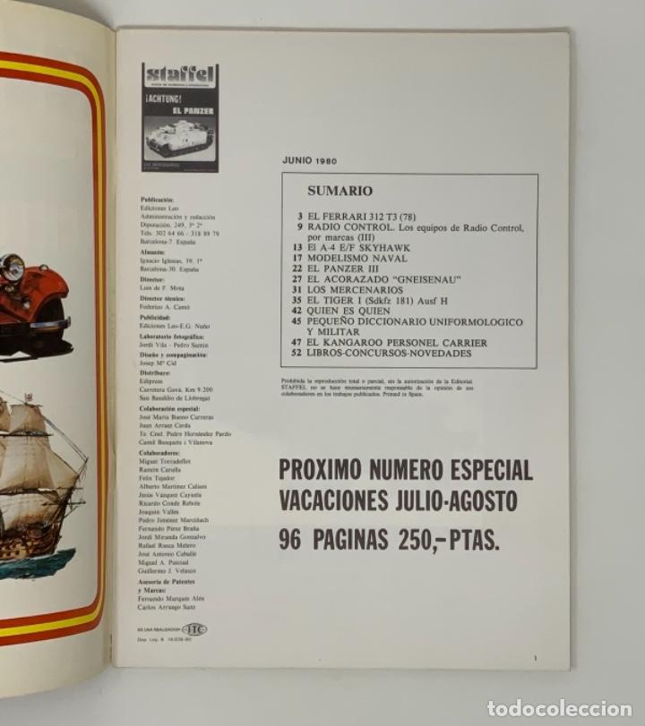 Hobbys: STAFFEL REVISTA DE MODELISMO Y MINIATURISMO AÑO II Nº 9 - Foto 4 - 183719788