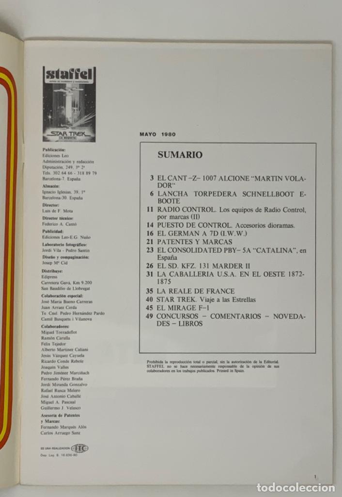 Hobbys: STAFFEL REVISTA DE MODELISMO Y MINIATURISMO AÑO II Nº 8 - Foto 2 - 183720670