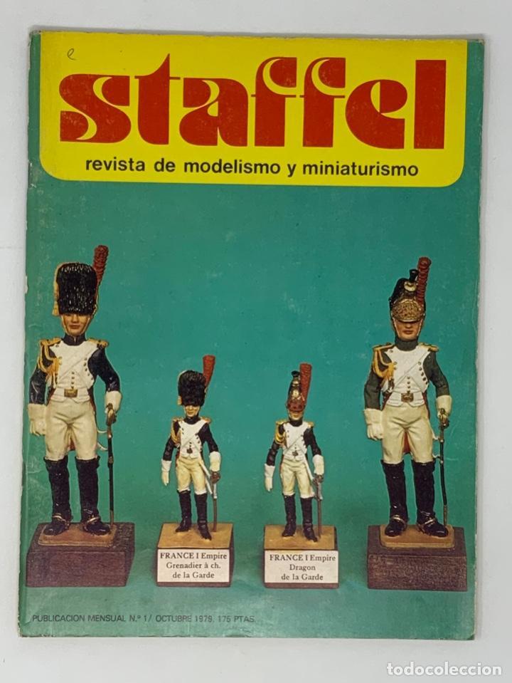 STAFFEL REVISTA DE MODELISMO Y MINIATURISMO Nº 1 (Juguetes - Modelismo y Radiocontrol - Revistas)