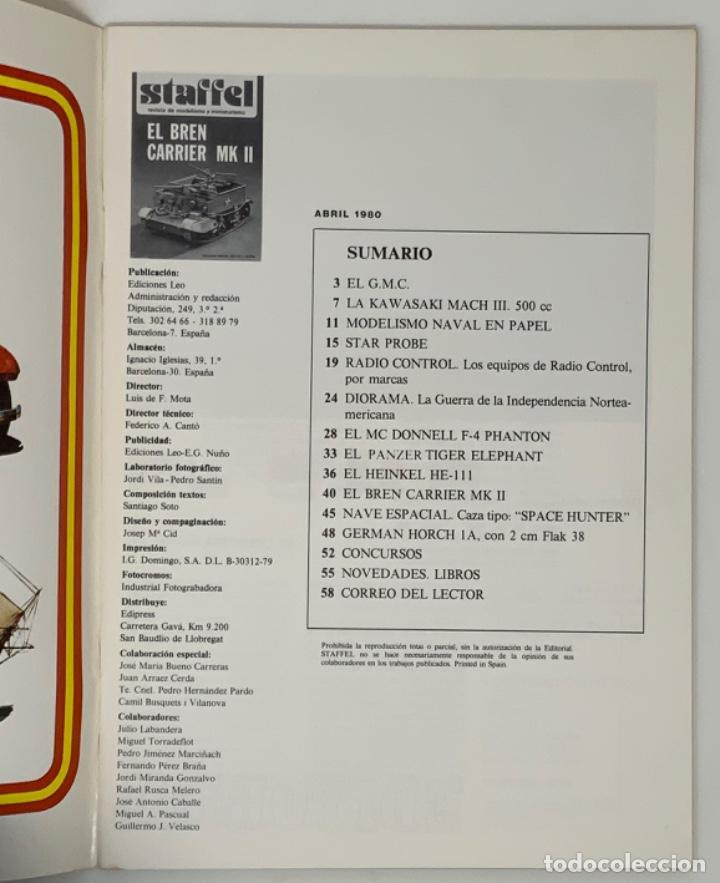 Hobbys: STAFFEL REVISTA DE MODELISMO Y MINIATURISMO AÑO II Nº 7 - Foto 3 - 183721757