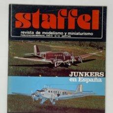 Hobbys: STAFFEL REVISTA DE MODELISMO Y MINIATURISMO AÑO III Nº 15. Lote 183721903