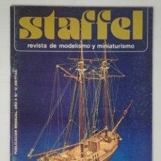 Hobbys: STAFFEL REVISTA DE MODELISMO Y MINIATURISMO AÑO II Nº 12. Lote 183722988