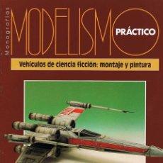 Hobbys: MODELISMO PRÁCTICO. VEHÍCULOS DE CIENCIA FICCIÓN: MONTAJE Y PINTURA. Lote 184790031