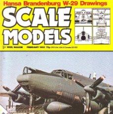 Hobbys: SCALE MODELS AÑO 1983 FEBRERO. Lote 187586156