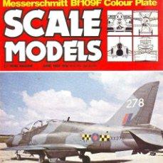 Hobbys: SCALE MODELS AÑO 1983 JUNIO. Lote 187588272