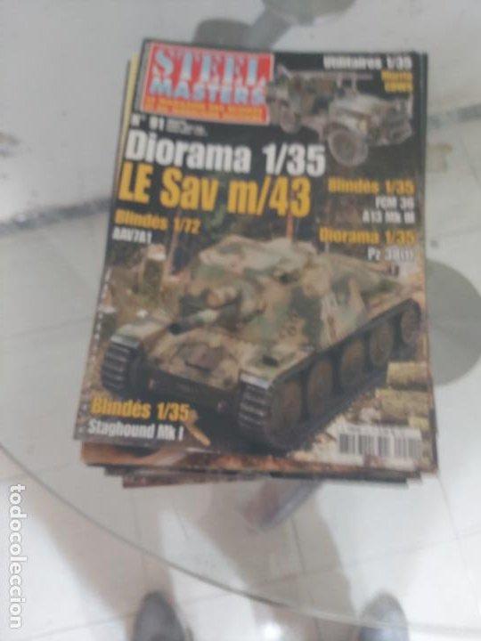 STEEL MASTERS (Juguetes - Modelismo y Radiocontrol - Revistas)