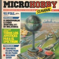 Hobbys: MICROHOBBY. Nº 8. REVISTA INDEPENDIENTE PARA USUARIOS DE ORDENADORES SINCLAIR.(P/B4). Lote 189424321