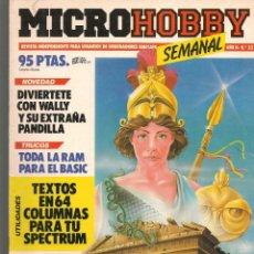 Hobbys: MICROHOBBY. Nº 22. REVISTA INDEPENDIENTE PARA USUARIOS DE ORDENADORES SINCLAIR.(P/B4). Lote 189424446