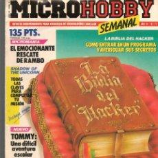 Hobbys: MICROHOBBY. Nº 71. REVISTA INDEPENDIENTE PARA USUARIOS DE ORDENADORES SINCLAIR.(P/B4). Lote 189424532