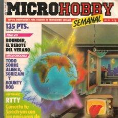 Hobbys: MICROHOBBY. Nº 92. REVISTA INDEPENDIENTE PARA USUARIOS DE ORDENADORES SINCLAIR.(P/B4). Lote 189424645