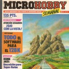 Hobbys: MICROHOBBY. Nº 75. REVISTA INDEPENDIENTE PARA USUARIOS DE ORDENADORES SINCLAIR.(P/B4). Lote 189424996