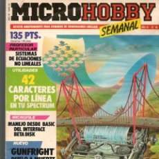 Hobbys: MICROHOBBY. Nº 66. REVISTA INDEPENDIENTE PARA USUARIOS DE ORDENADORES SINCLAIR.(P/B4). Lote 189425303