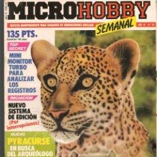 Hobbys: MICROHOBBY. Nº 93. REVISTA INDEPENDIENTE PARA USUARIOS DE ORDENADORES SINCLAIR.(P/B4). Lote 189426220