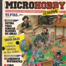 Hobbys: MICROHOBBY. Nº 25. REVISTA INDEPENDIENTE PARA USUARIOS DE ORDENADORES SINCLAIR.(P/B4). Lote 189426613