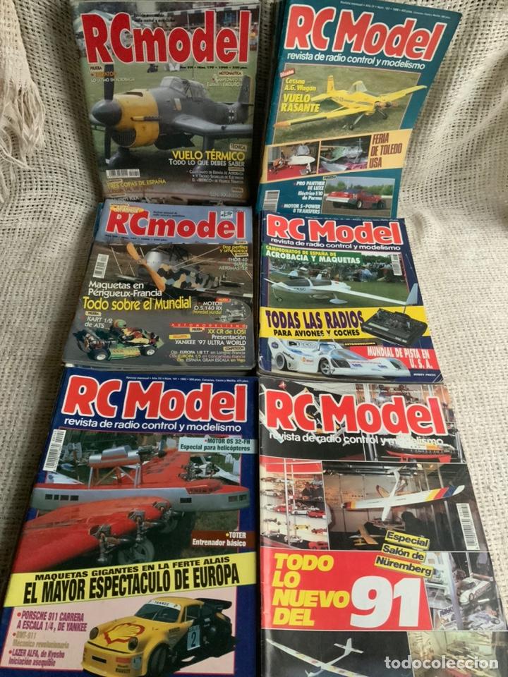 Hobbys: RC MODEL, REVISTA RADIO CONTROL Y MODELISMO , LOTE 44 EJEMPLARES - Foto 2 - 189668923