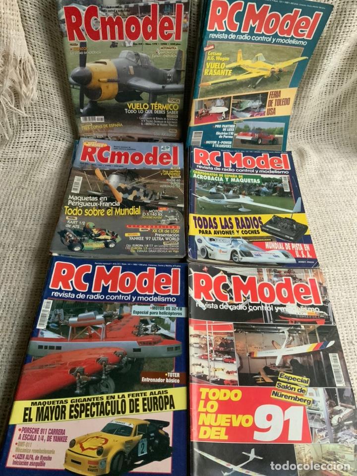 RC MODEL, REVISTA RADIO CONTROL Y MODELISMO , LOTE 44 EJEMPLARES (Juguetes - Modelismo y Radiocontrol - Revistas)