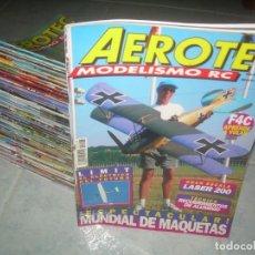 Hobbys: LOTE 46 REVISTA AEROTEC MODELISMO RC, AEROMODELISMO RADIO CONTROL AVIONES. VER FOTOS Y LISTADO. Lote 189714430