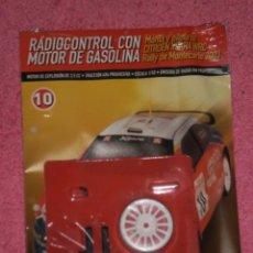 Hobbys: FASCICULO RADIOCONTROL CON MOTOR DE GASOLINA , NUMERO 10*INCLUYE LAS PIEZAS*ALTAYA. Lote 193432365