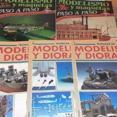Hobbys: LOTE REVISTAS MODELISMO Y MAQUETAS, STAFFEL, ETC. Lote 194301391