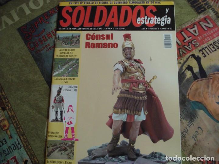 SOLDADOS Y ESTRATEGIA Nº 6 (Juguetes - Modelismo y Radiocontrol - Revistas)