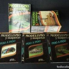 Hobbys: MODELISMO Y MAQUETAS PASO A PASO COMPLETA 1 A 52 CON 3 CARPETAS 1984. Lote 195943176