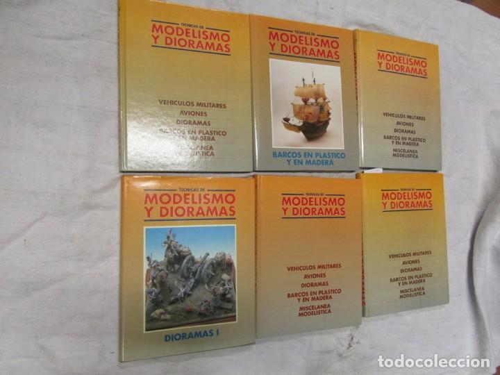 TECNICAS DE MODELISMO Y DIORAMAS (6 TOMOS COMPLETA) - VV.AA. EDI GENESIS 1991 + INFO (Juguetes - Modelismo y Radiocontrol - Revistas)