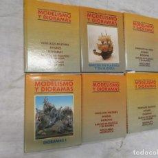 Hobbys: TECNICAS DE MODELISMO Y DIORAMAS (6 TOMOS COMPLETA) - VV.AA. EDI GENESIS 1991 + INFO . Lote 197246208