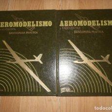 Hobbys: AEROMODELISMO Y RADIOCONTROL ENCICLOPEDIA PRACTICA - VOLUMEN 1 Y 3 ( SOLO FALTA EL TOMO 2 ) - HOBBY . Lote 198733827