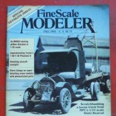 Hobbys: FINE SCALE MODELLER AÑO 1983 OTOÑO. Lote 198969078