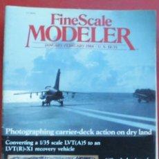 Hobbys: FINE SCALE MODELLER AÑO 1984 ENERO-FEBRERO. Lote 198969141