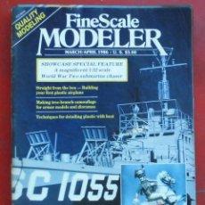 Hobbys: FINE SCALE MODELLER AÑO 1986 MARZO-ABRIL. Lote 198969685