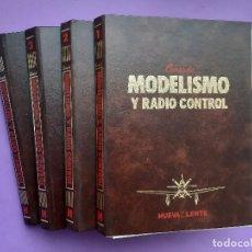 Hobbys: LOTE 4 TOMOS CURSO MODELISMO RADIO CONTROL EDITO. NUEVA LENTE COMPLETO 60 FASCICULOS SIN ENCUADERNAR. Lote 199308922
