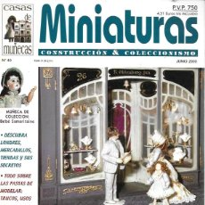 Hobbys: MINIATURAS CONSTRUCCIÓN & COLECCIONISMO. Nº 40. Lote 201309061