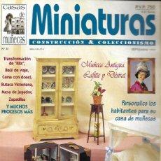 Hobbys: MINIATURAS CONSTRUCCIÓN & COLECCIONISMO. Nº 31. Lote 201309135