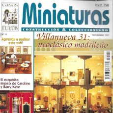 Hobbys: MINIATURAS CONSTRUCCIÓN & COLECCIONISMO. Nº 11. Lote 201309185