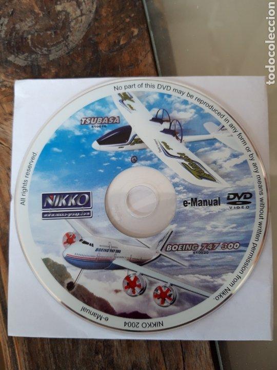 DVD E-MANUAL NIKKO DE LOS MODELOS BOEING 747 300 Y TSUBASA 2004 (Juguetes - Modelismo y Radiocontrol - Revistas)