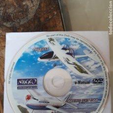 Hobbys: DVD E-MANUAL NIKKO DE LOS MODELOS BOEING 747 300 Y TSUBASA 2004. Lote 203861833