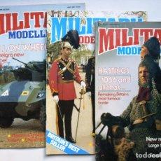 Hobbys: LOTE DE 3 REVISTAS MILLITARY MODELING JULIO, AGOSTO Y SEPTIEMBRE. Lote 206298155