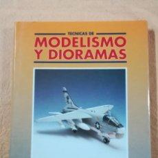 Hobbys: TECNICAS DE MODELISMO Y DIORAMAS - TOMO DE AVIONES - EDICIONES GENESIS. Lote 208112530