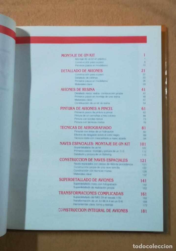 Hobbys: TECNICAS DE MODELISMO Y DIORAMAS - TOMO DE AVIONES - Ediciones Genesis - Foto 2 - 208112530