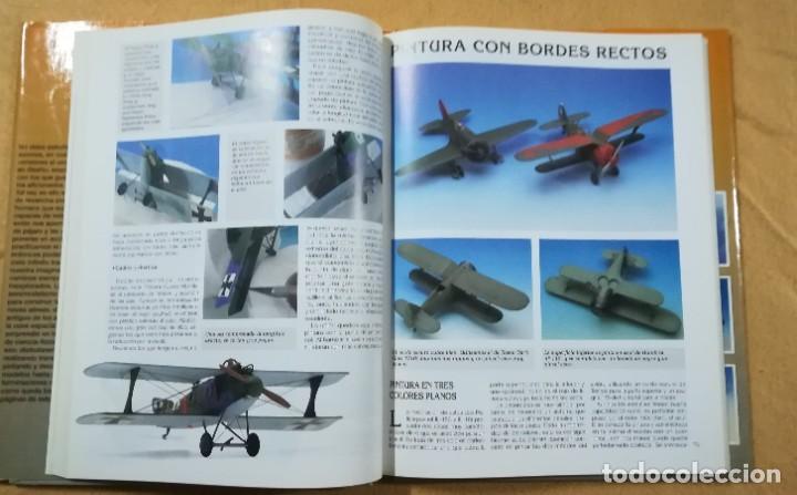 Hobbys: TECNICAS DE MODELISMO Y DIORAMAS - TOMO DE AVIONES - Ediciones Genesis - Foto 4 - 208112530
