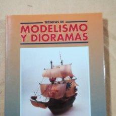 Hobbys: TECNICAS DE MODELISMO Y DIORAMAS - TOMO DE BARCOS EN PLASTICO Y MADERA - EDICIONES GENESIS. Lote 208112536