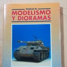 Hobbys: TECNICAS DE MODELISMO Y DIORAMAS - TOMO DE VEHICULOS MILITARES - EDICIONES GENESIS. Lote 208112547