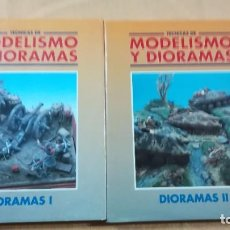 Hobbys: TECNICAS DE MODELISMO Y DIORAMAS - 2 TOMOS DE DIORAMAS - EDICIONES GENESIS. Lote 208112561